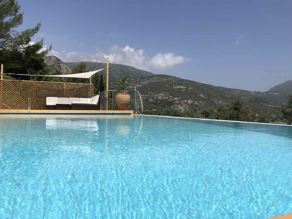private holiday villa rental in Kefalonia